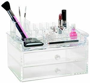 Danielle organisateur de maquillage avec tiroirs - Organisateur de maquillage ...