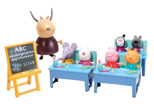 <p>Peppa Pig set de juego Aula con 7 cifras<br/><br/> - Edad 3 años +<br/></p>