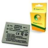 PowerPlanet NP-1 Konica Minolta High Capacity Compatible 2 Year Warranty Digital Camera Battery for Konica Minolta DiMAGE X1