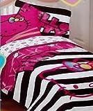 Hello Kitty Neon Kitty Full Size Sheet Set