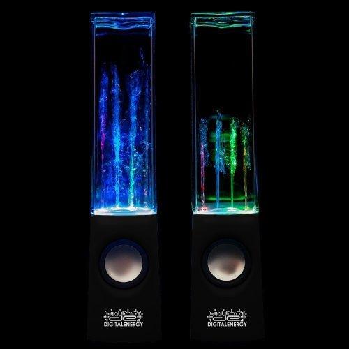 Digital Energy Dancing Water Speakers (In Retail Packaging) Black