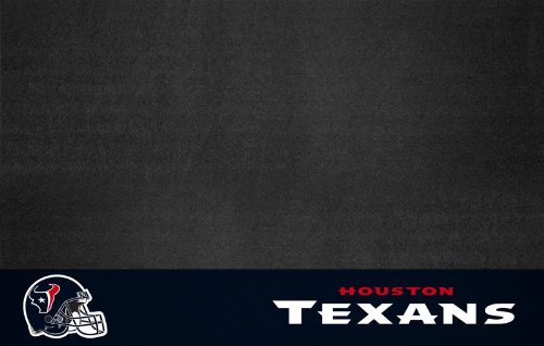 "Fanmats Sports Team Logo Nfl - Houston Texans Grill Mat 26"" X 42"""