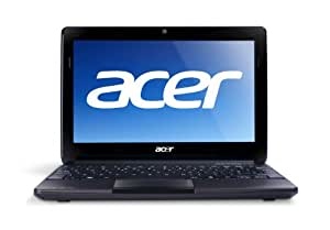 Acer Aspire One AOD270-1410 10.1-Inch Netbook (1.6GHz Intel Atom N2600 Processor, 1GB DDR3, 320GB HDD, Windows 7 Starter) Espresso Black