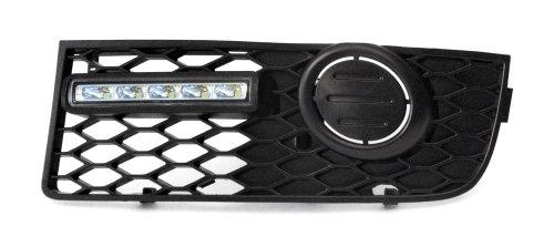 Devil Eyes 610857 Lot de 2 feux de jour LED pour Audi A4 8E B6 S-Line conformes aux normes européennes