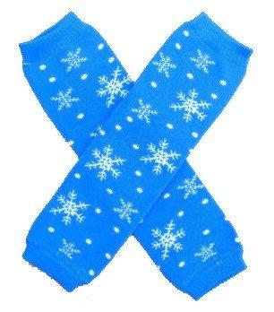 KerrBear Kids - Blue Snowflake Leg Warmers 4good kids s45 blue