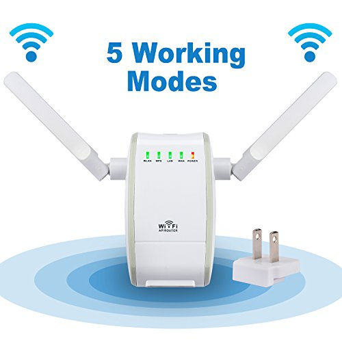 Starrybay 300mbps wireless n range extender wifi repeater - Wireless extender with ethernet ports ...