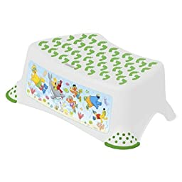 Ginsey Home Solutions Sesame Street Deluxe Step Stool