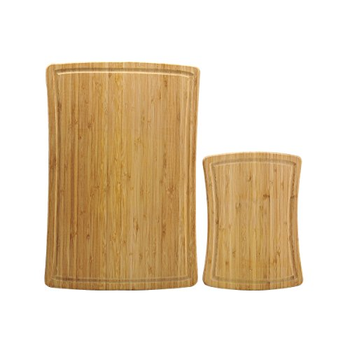 Farberware 2-Piece Bamboo Cutting Board Set, Assorted Sizes (Farberware Knife Set 12 Piece compare prices)