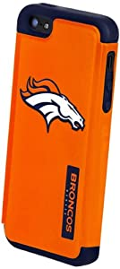 Forever Collectibles Denver Broncos Rugged Dual Hybrid Apple iPhone 5 & 5S Case by Forever Collectibles