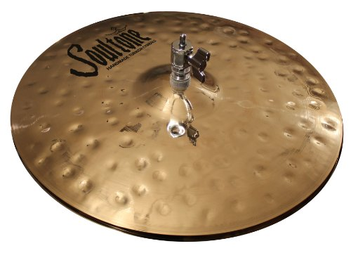 "Soultone Cymbals Heavy Hammered 14"" Hi Hats Bottom Cymbal Only"