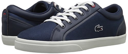 Lacoste Women's Lenglen 216 1 Fashion Sneaker, Navy, 7 M US