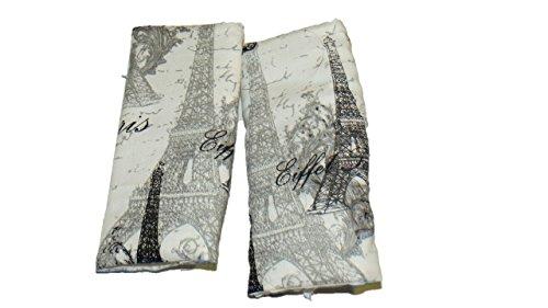Jojo's Boutique Paris Theme Car Seat Strap Covers (Car Seat Cover Paris compare prices)