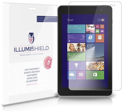 iLLumiShield - Dell Venue 8 Pro Crystal Clear Scre