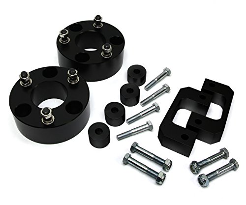 2007 (New) - 2015 Silverado Sierra Lift Kit 1500 3.5 Inch Front BIG BRAWNS Aircraft Billet Upper and Lower Strut Spacers and Differential Drop (Lift Kit 08 Gmc compare prices)