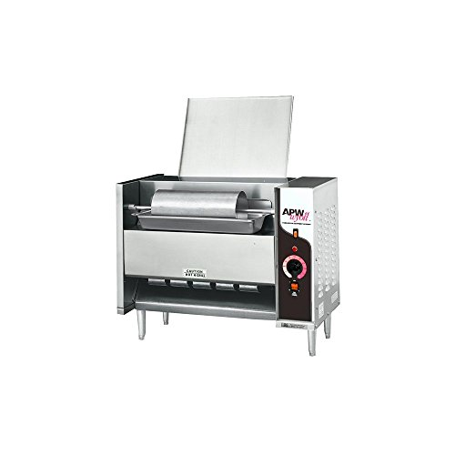 APW Wyott M-95-2FD Electric Vertical Conveyor Bun Grill Toaster (Grill Bun Toaster compare prices)