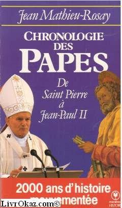 Chronologie des papes francais