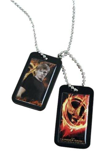 The Hunger Games Movie Epoxy Dog Tags Peeta