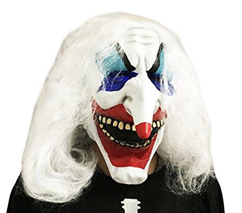 Halloween Party Mask Cosplay Mask Horror Devil Clown Cosplay Costume Head Mask (Killer Masks)