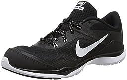 Nike Women\'s Flex Trainer 5 Black/White/Anthracite Training Shoe 5.5 Women US
