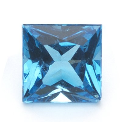 0.88 Cts of 5.5 mm AA Square Princess ( 1 pc