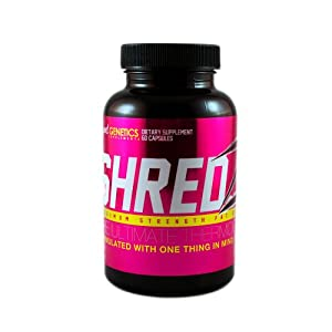 SHREDZ for Her: Weight Loss Pills for Women Fat Burner Metabolism Booster Supplement from Beyond Genetics Supplements
