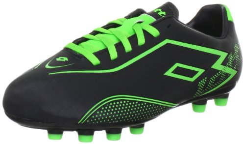 lotto-sport-lotto-zhgravii-700fg-jr-sports-shoes-football-boys-black-schwarz-black-mngreen-size-5-38