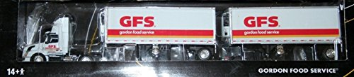 Ertl Die-Cast Promotions 31954 GFS Gordon Food Service DCP 1:64 Scale Volvo w/ Double 28' Trailers Series II (Die Cast Promotions Trucks compare prices)