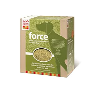 Honest Kitchen Force, Grain-Free Dehydrated Raw Dog Food w/ Chicken, 4lb from The Honest Kitchen
