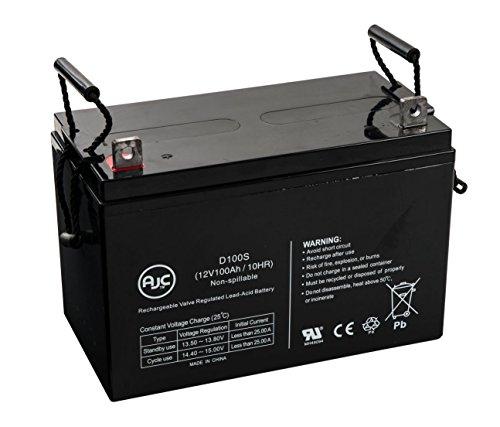 Batterie Yuasa NP100-12 NP 12V 100Ah Acide scellé de plomb - Ce produit est un article de remplacement de la marque AJC®