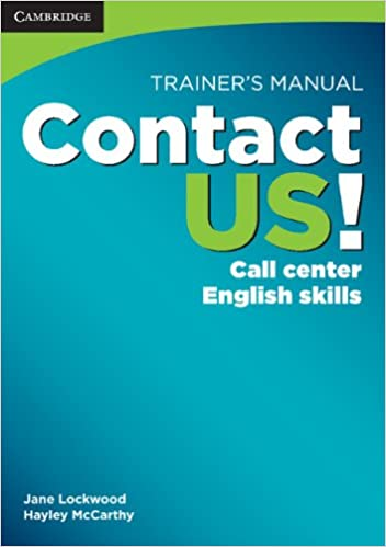 Buy Contact US! Trainer's Manual: Call Center English Skills Book ...
