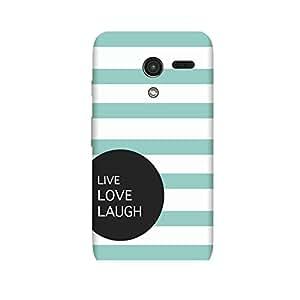 LiveLoveLaugh Case for Motorola Moto G2 (2nd Gen)