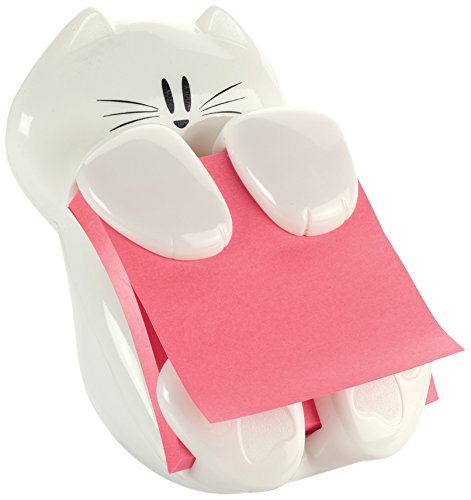 WANT this - a cat post it note dispenser