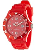 ICE-Watch - Montre Mixte - Quartz Analogique - Ice-Forever - Red - Big - Cadran Rouge - Bracelet Silicone Rouge - SI.RD.B.S.09
