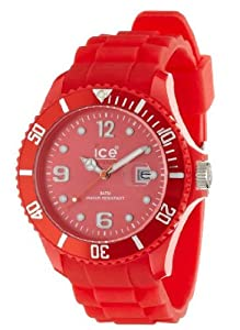 Ice-Watch Sili Collection SI.RD.B.S.09 - Reloj unisex de cuarzo, correa de silicona color rojo