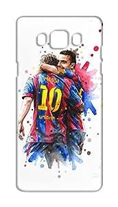Barcelona Football Club - BARCA Design Mobile Cover for Samsung Galaxy J5 2016 - Hard Case Back Cover - FCB Printed Designer Cover - SGJ5NFCBB139