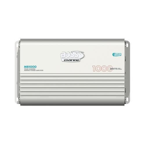Boss Mr1000 1000w 4 Ch Car Audio Amplifier Amp Bass Knob 4 Channel 1000 Watt (Bass Knob Boss compare prices)