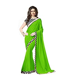 New Look Faux georgette saree with blouse