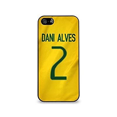 Dani Alves - Brazil Iphone 4/4S Soft Rubber Case
