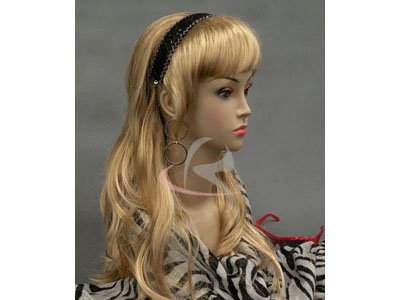 (MD-LISA) Realistic Female Mannequin Head Flesh Tone Pretty make-up