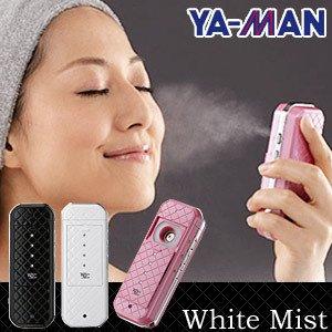 携帯用ハンディミスト美顔器ホワイトミスト A 話題のモバ美 ホワイト