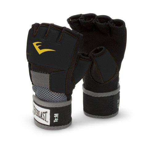 Everlast EverGel Hand Wraps (Black, Medium) (Boxing Wraps compare prices)