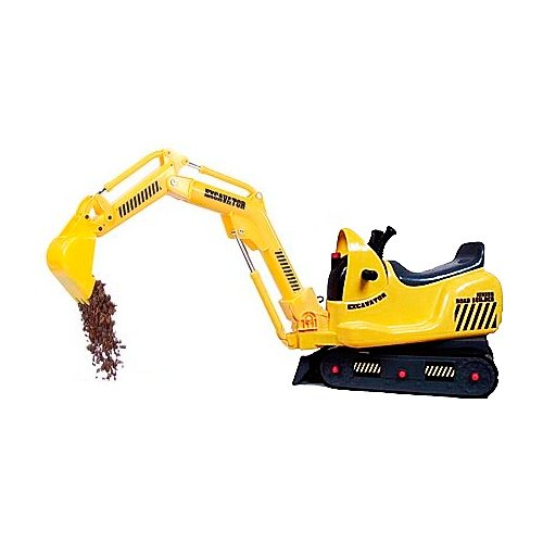 Battery Operated Ride on Micro Excavator