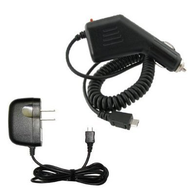 Fosmon Wall + Car Charger Adapter for RIM Blackberry Bold 9780
