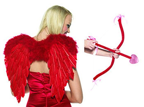Cupid Kit, Bow, Arrow & Wings Halloween Costume - 1 Size