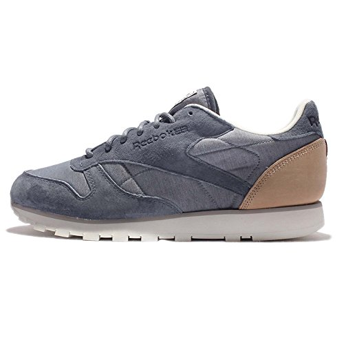 Reebok - CL Leather Fleck - AQ9722 - Color: Blue - Size: 9.5