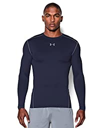 Men\'s Under Armour ColdGear Armour Compression Crew, Midnight Navy (410), Medium