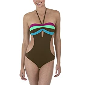 Xhilaration® Monokini - Brown