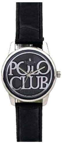 Dial Polo Analog Black Dial  Unisex Watch - P5006