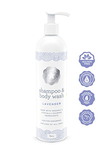 Lavender Baby Organic Shampoo Body Wash