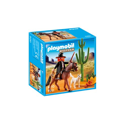 PLAYMOBIL Sheriff with Horse - 1